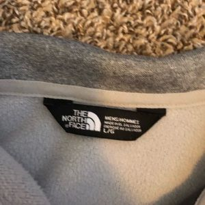 North Face quarter zip. Barely worn. All gray